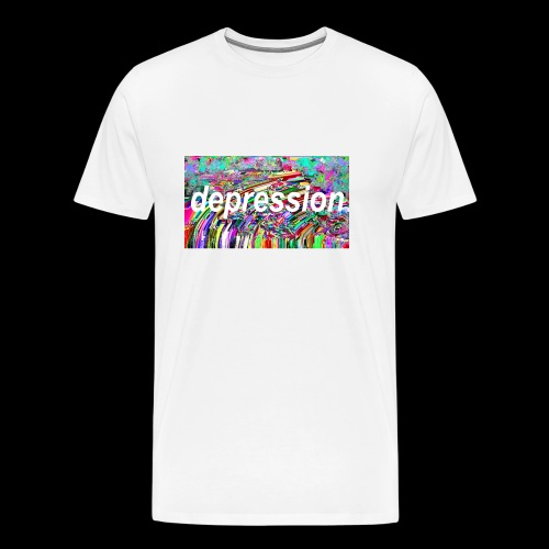 Depression Sesh - Men's Premium T-Shirt