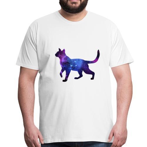 Space Cat - Männer Premium T-Shirt