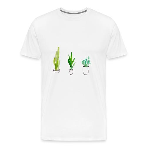 cactus - Mannen Premium T-shirt