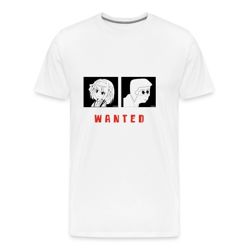 Wanted sign - Mannen Premium T-shirt