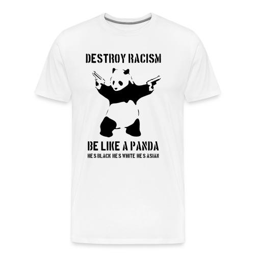 ZNISZCZ RASIZM - Koszulka męska Premium
