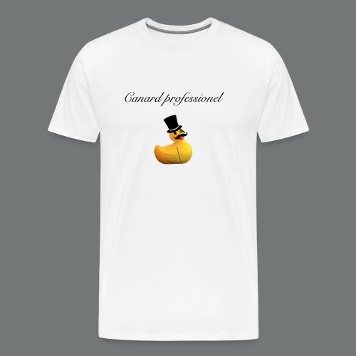 canard professionel - T-shirt Premium Homme