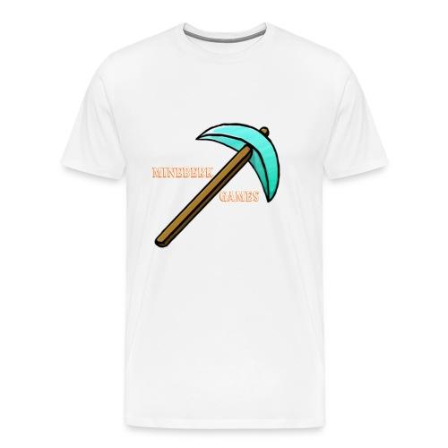 MineBerk Games Logo - Mannen Premium T-shirt