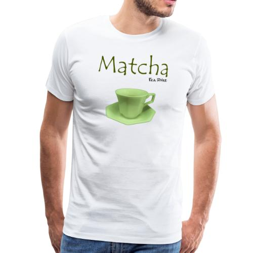 Matcha Tea-Shirt - Men's Premium T-Shirt