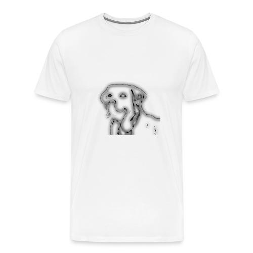 der Labrador - Männer Premium T-Shirt