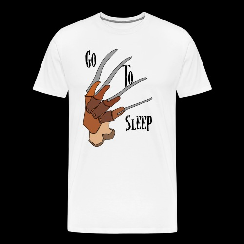 Go To Sleep - tributo a Freddy Krueger - Maglietta Premium da uomo