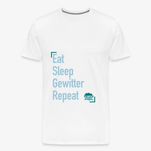 Tagesrhythmus - Männer Premium T-Shirt