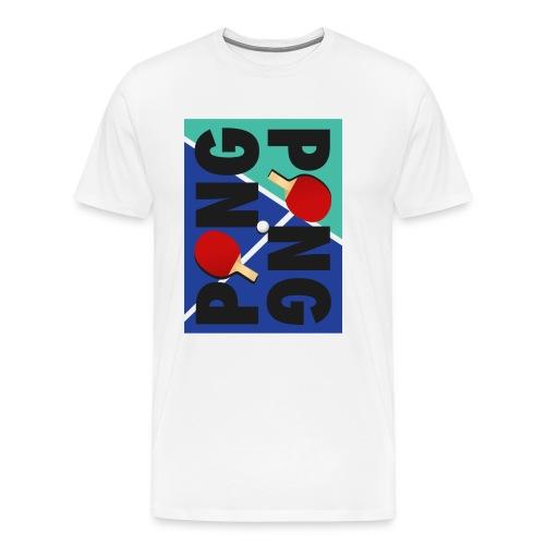 Ping Pong Sport Love - Männer Premium T-Shirt