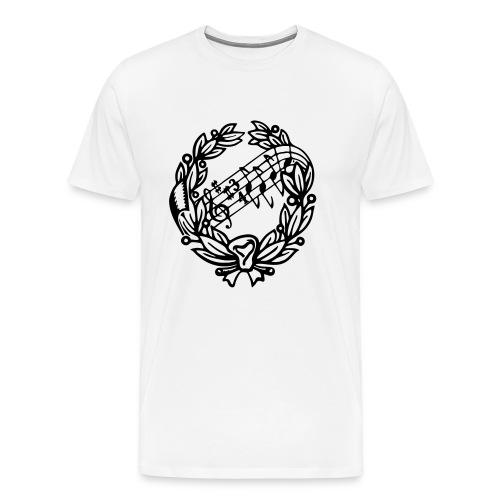 AS Black - Premium-T-shirt herr