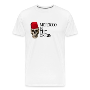 Morocco Is The Origin - T-shirt Premium Homme