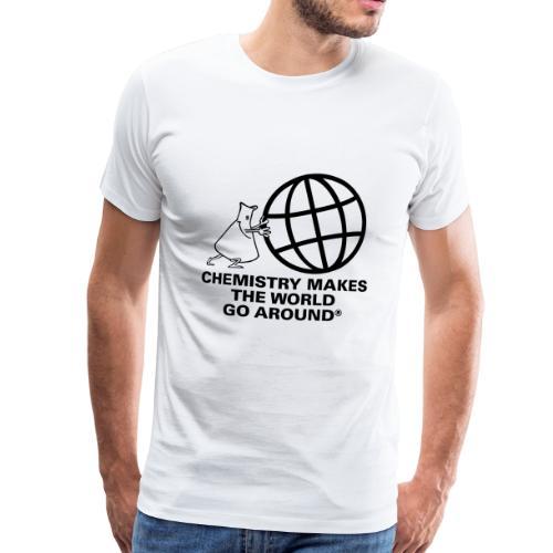Erlenmeyer dreht die Welt - T-Shirt - Männer Premium T-Shirt