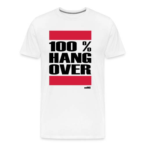100 % HANGOVER - Männer Premium T-Shirt