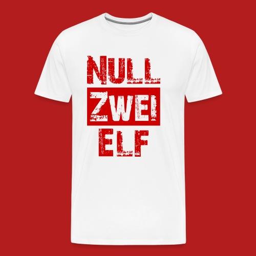 Null Zwei Elf - Männer Premium T-Shirt