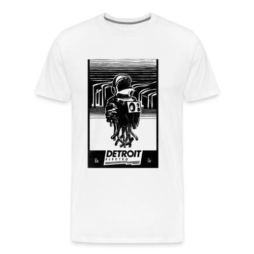 Detroit Electro - Männer Premium T-Shirt