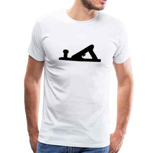høvel - Premium T-skjorte for menn