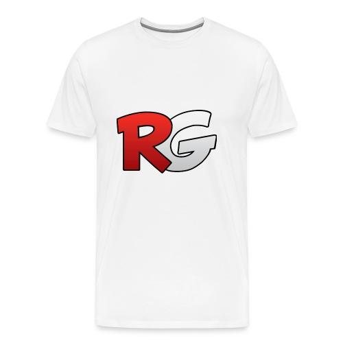 jongens shirt met een (v half) - Mannen Premium T-shirt