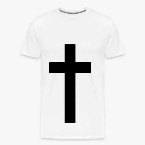 Croce - Maglietta Premium da uomo