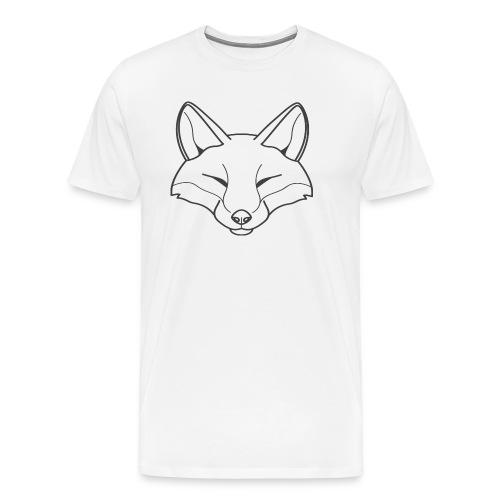 Fox logo - Männer Premium T-Shirt