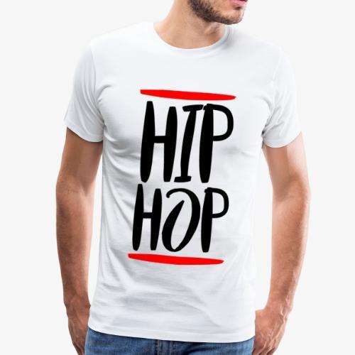 90s Hip Hop - Männer Premium T-Shirt