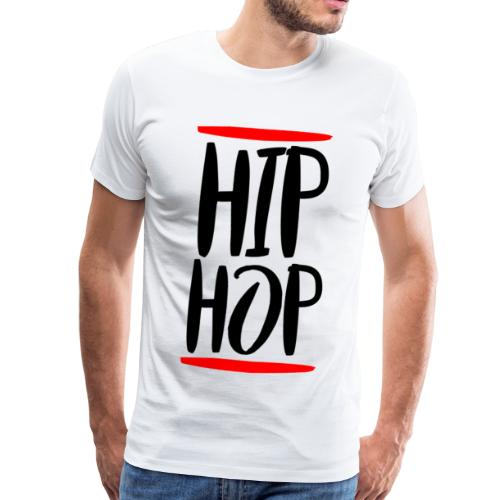 Hip-hop z lat 90 - Koszulka męska Premium