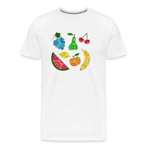 Obstsalat - Männer Premium T-Shirt