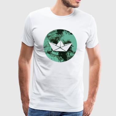 rotonda barca - Maglietta Premium da uomo