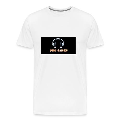 Kopp til spillere - Premium T-skjorte for menn