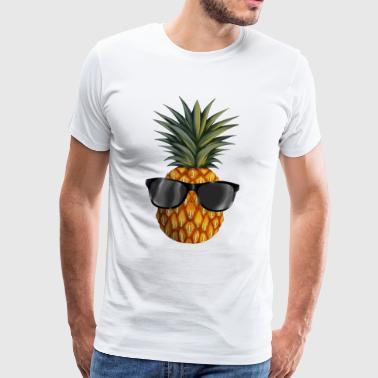 ananas coolness - Premium T-skjorte for menn