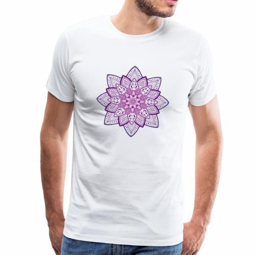 Blume 2 | Meditation Mandala Spirituell henna yoga - Männer Premium T-Shirt