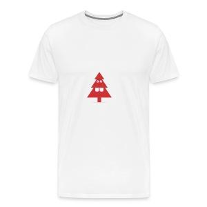 Kerstboom - Mannen Premium T-shirt