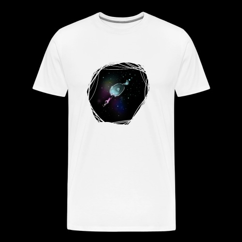 Space Cat - Männer Premium T-Shirt