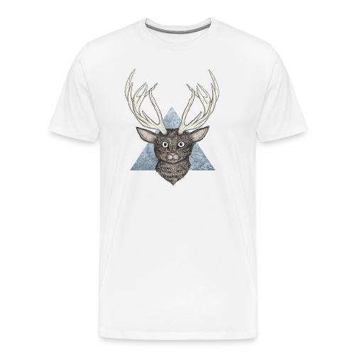 Deer cat - T-shirt Premium Homme