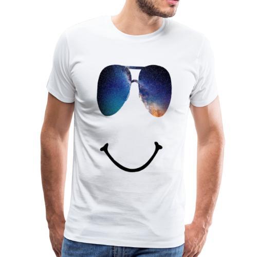 Smile-Glasses - Männer Premium T-Shirt