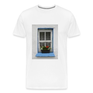 Cashed Cottage Window - Men's Premium T-Shirt
