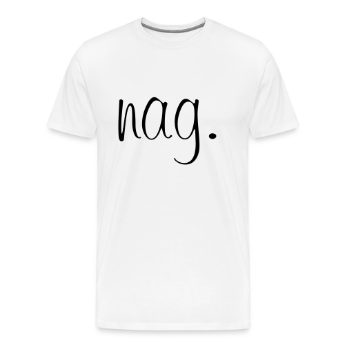 nag logo premium - Männer Premium T-Shirt