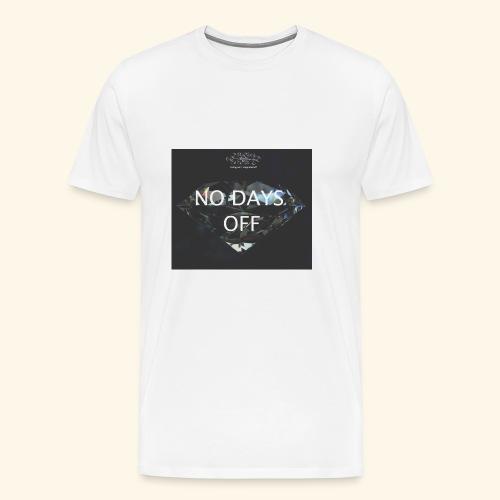 No Days Off - Maglietta Premium da uomo