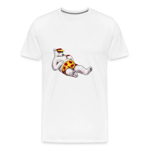polar bear beach party - Maglietta Premium da uomo