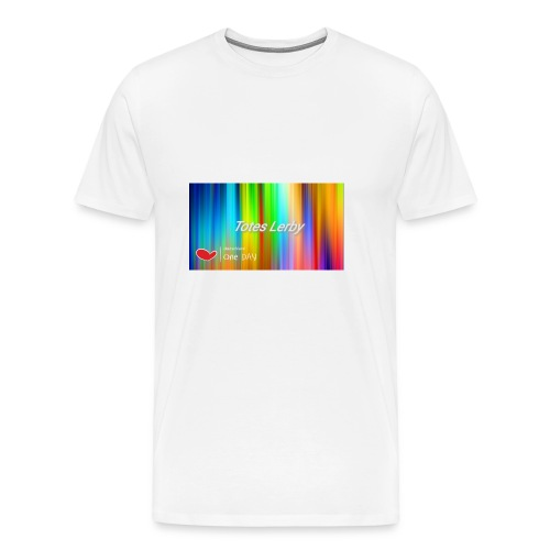 Totes Lerby desing - Männer Premium T-Shirt