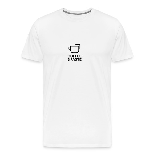 Coffee and Paste - Männer Premium T-Shirt