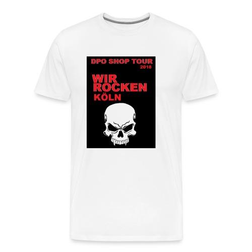 DPO SHOP ABSCHIEDS TOUR 2018 - WIR ROCKEN KÖLN - Männer Premium T-Shirt