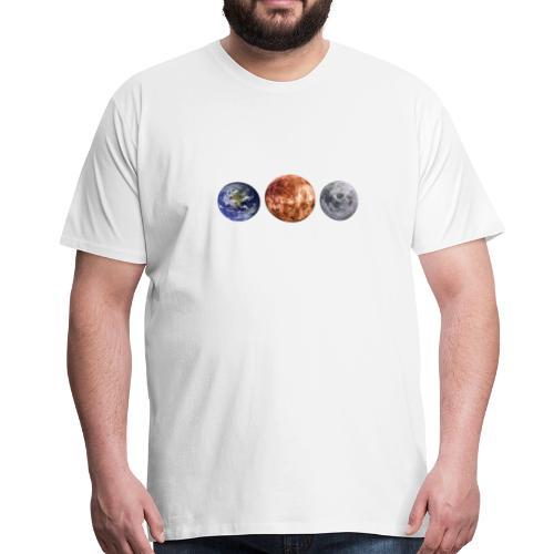 planeten - Männer Premium T-Shirt