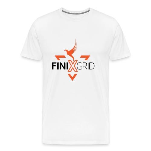 FinixGrid Orange - Men's Premium T-Shirt