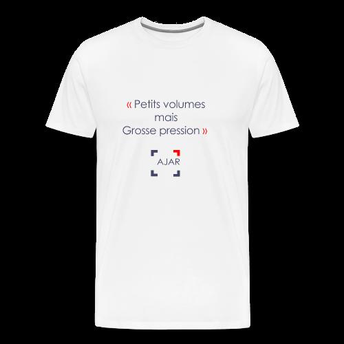 Petits volumes mais grosse pression - T-shirt Premium Homme