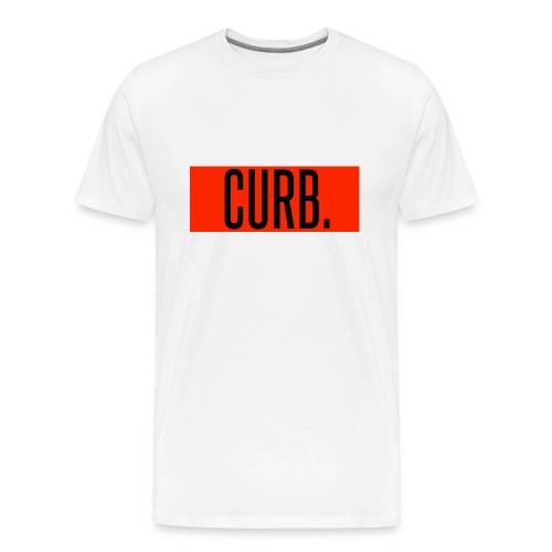 CURB red - Männer Premium T-Shirt