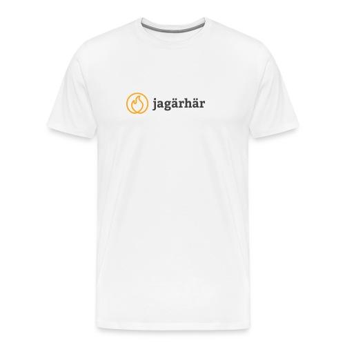 #jagärhär - Premium-T-shirt herr