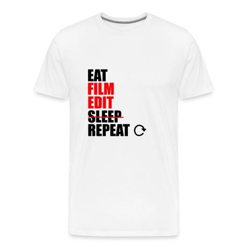 Life of a filmmaker - Männer Premium T-Shirt