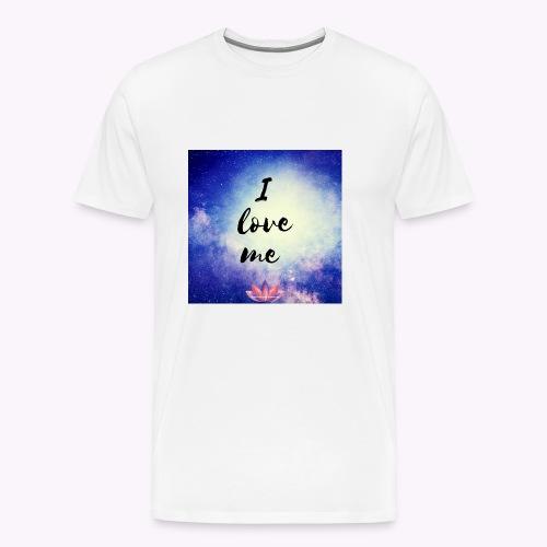 I love me - Männer Premium T-Shirt