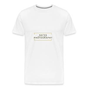 Nates photography 2.0 - Men's Premium T-Shirt