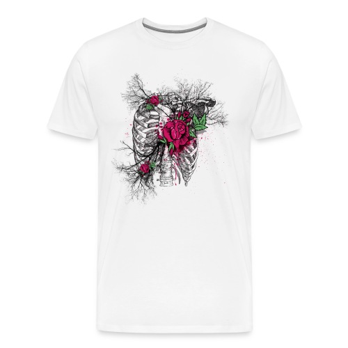 Rose Chest - Männer Premium T-Shirt