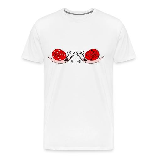 Crazy snails - Men's Premium T-Shirt
